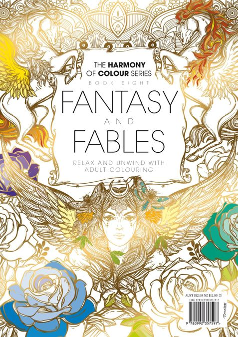Colouring Book: Fantasy and Fables