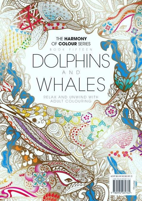 Colouring Book: Dolphins and Whales