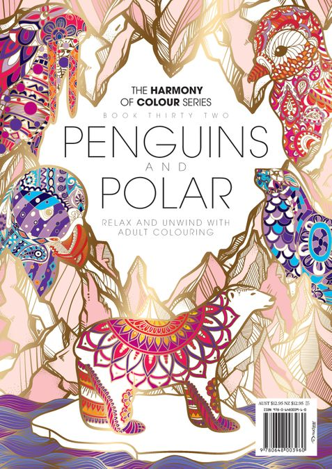 Colouring Book: Penguins and Polar
