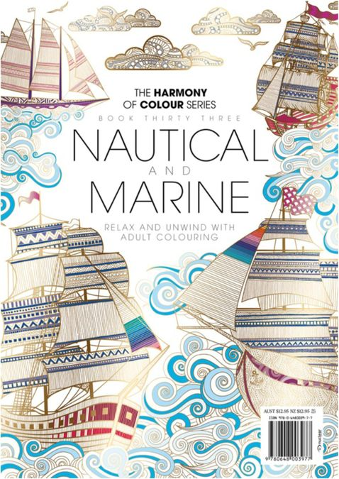 Colouring Book: Nautical and Marine