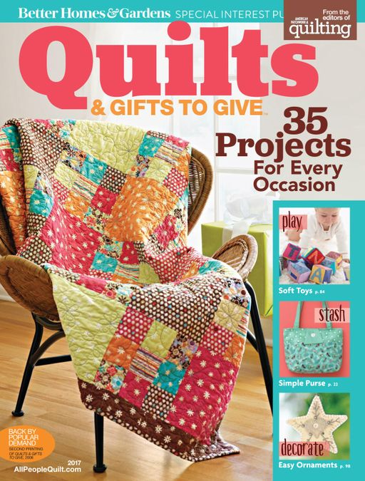 Quilts & Gifts to Give