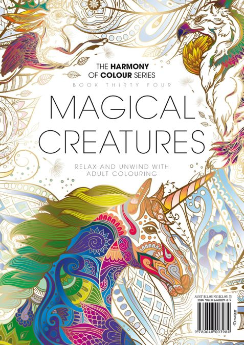 Colouring Book: Magical Creatures