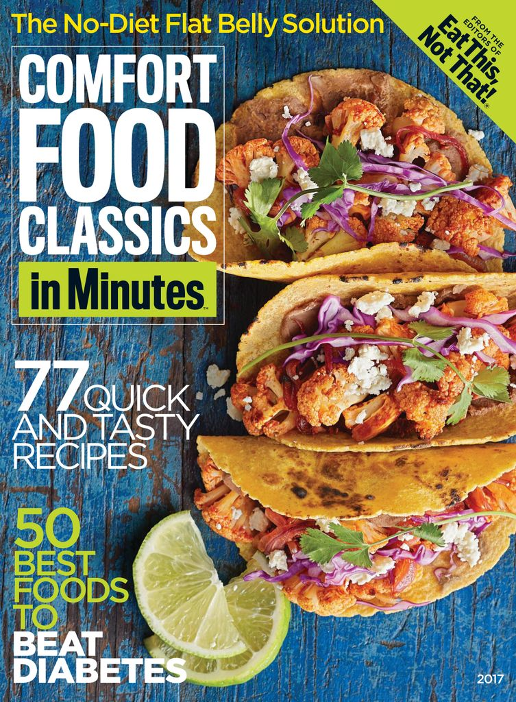 Comfort Food Classics in Minutes - Issue Subscriptions