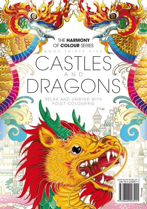 Colouring Book: Castles and Dragons