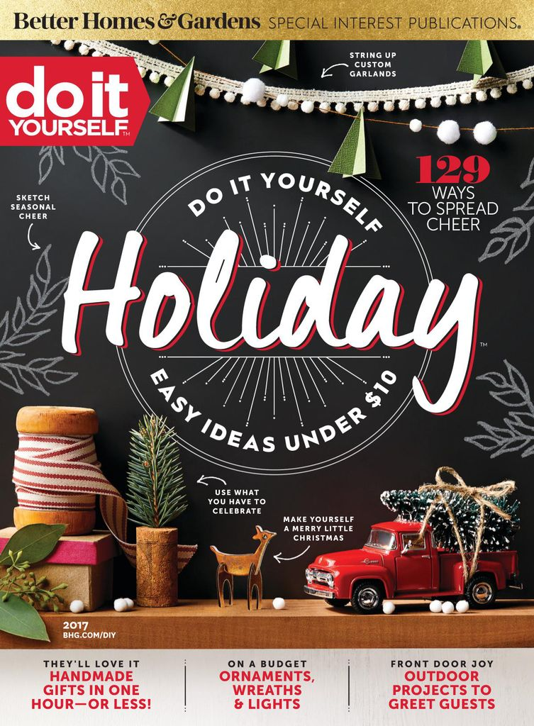 Do It Yourself Holiday - Issue Subscriptions