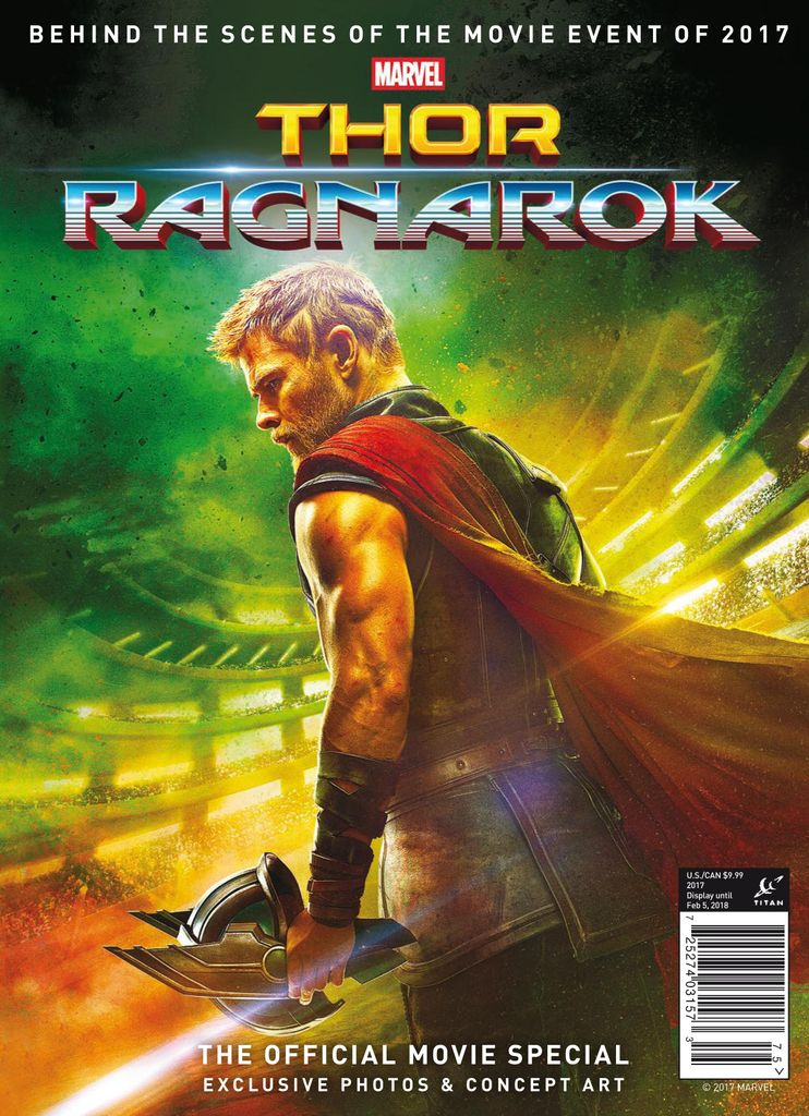 Thor: Ragnarok - The Official Movie Special - Issue Subscriptions