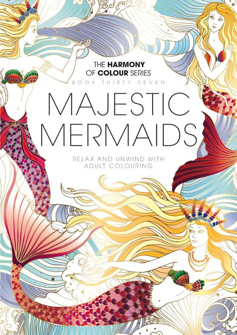 Colouring Book: Magestic Mermaids
