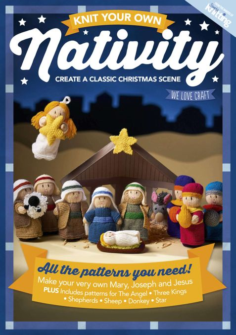 Knit your own Nativity