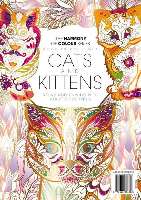 Colouring Book: Cats and Kittens