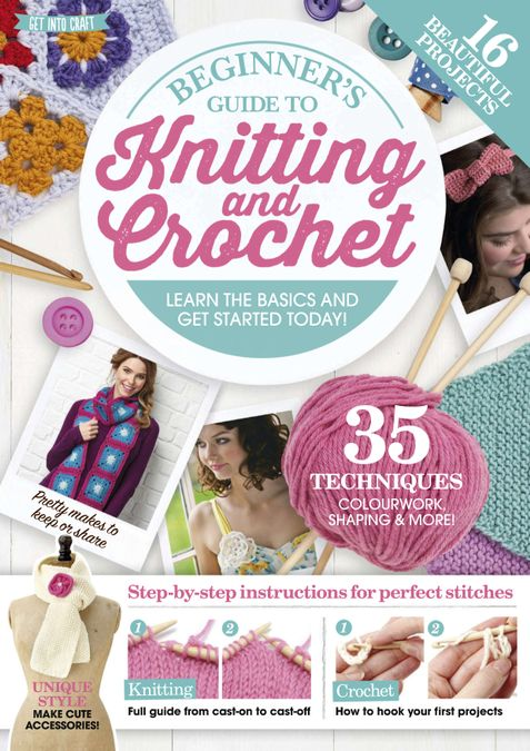 Beginner's Guide to Knitting and Crochet