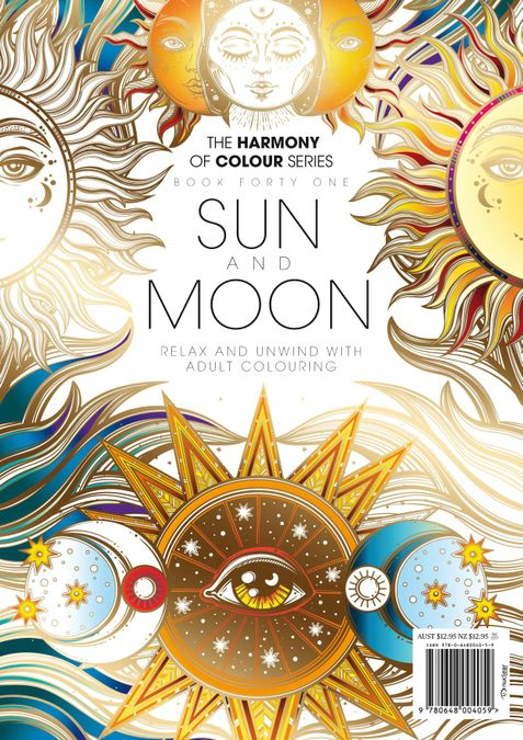 Colouring Book: Sun and Moon