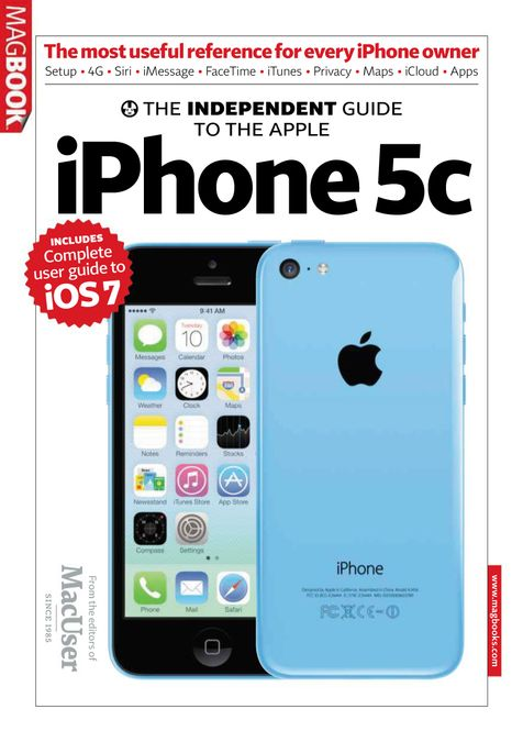 The Independent Guide to the Apple iPhone 5C