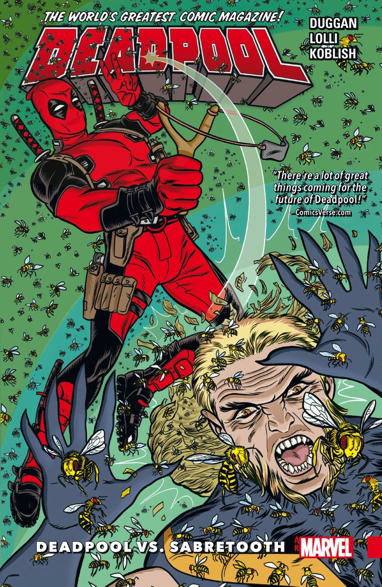 Deadpool: World's Greatest Vol. 3 - Deadpool Vs. Sabretooth