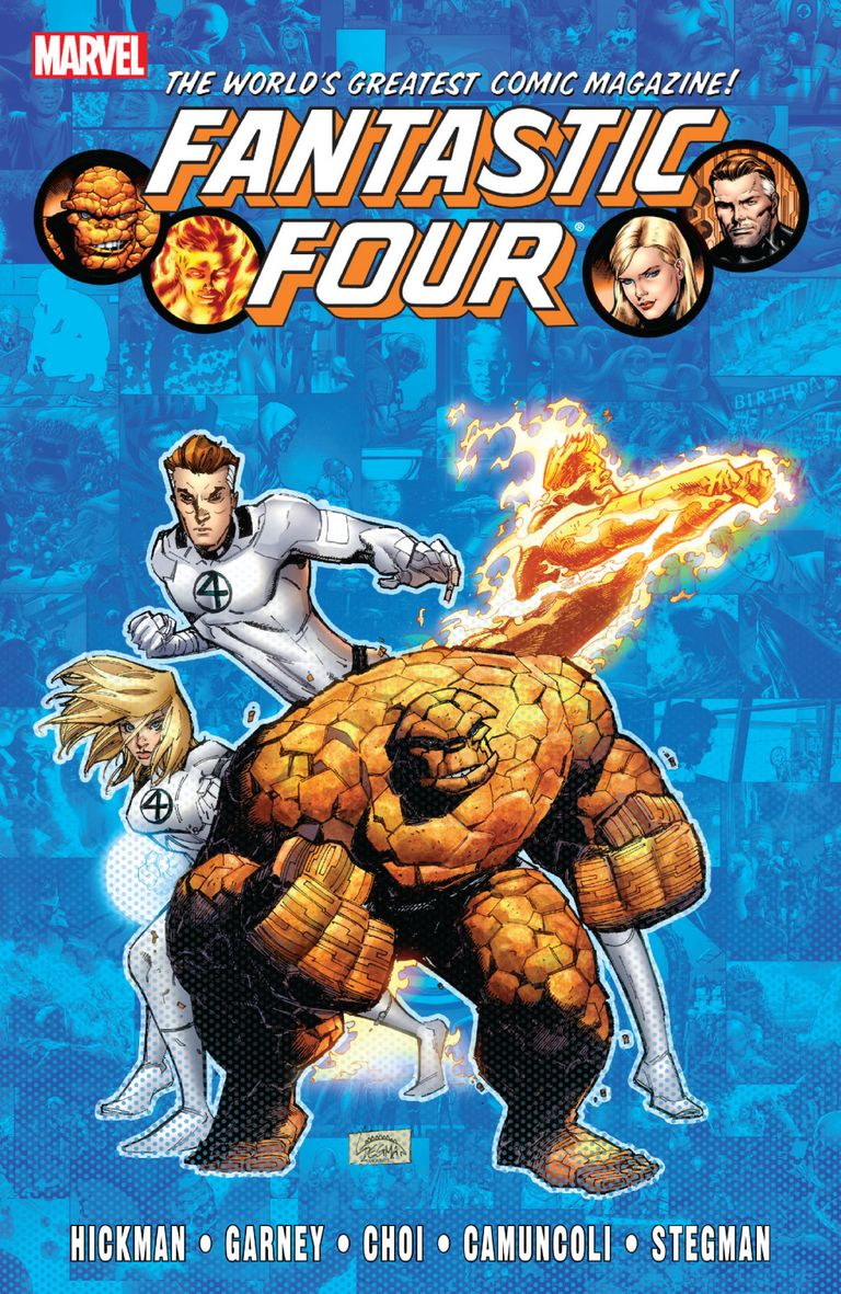 Fantastic Four By Jonathan Hickman Vol.6
