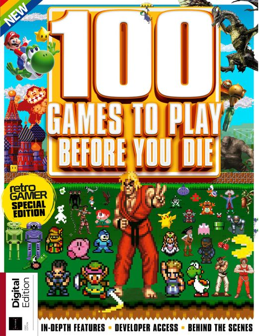100 Games To Play Before You Die