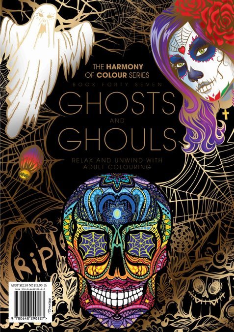 Colouring Book: Ghosts and Ghouls