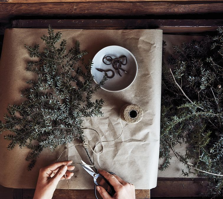 Grace your Home with Evergreens