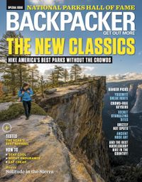 August 01, 2018 issue of Backpacker