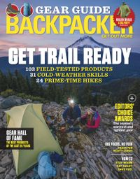 October 31, 2018 issue of Backpacker