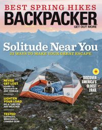 April 30, 2019 issue of Backpacker