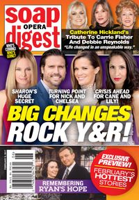 February 06, 2017 issue of Soap Opera Digest