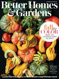October 01, 2018 issue of Better Homes and Gardens