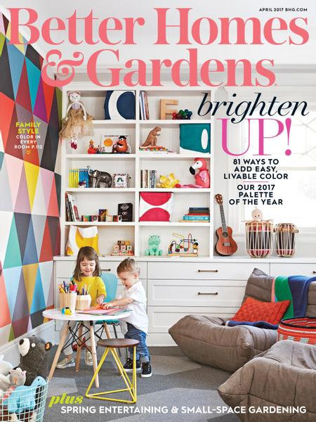 April 2017 back issue of Better Homes and Gardens Ziniocom