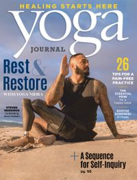 September 01, 2020 issue of Yoga Journal