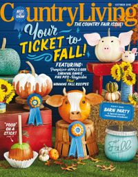 September 30, 2018 issue of Country Living