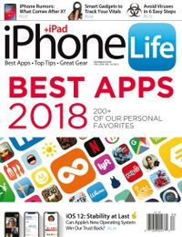 June 30, 2018 issue of iPhone Life
