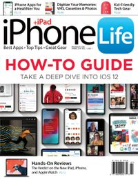 March 01, 2019 issue of iPhone Life