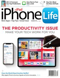 March 31, 2019 issue of iPhone Life