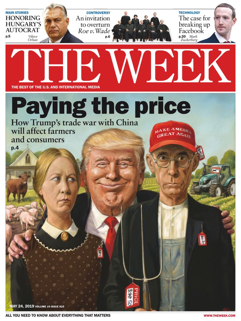 The Week Magazine cover for May 24, 2019.