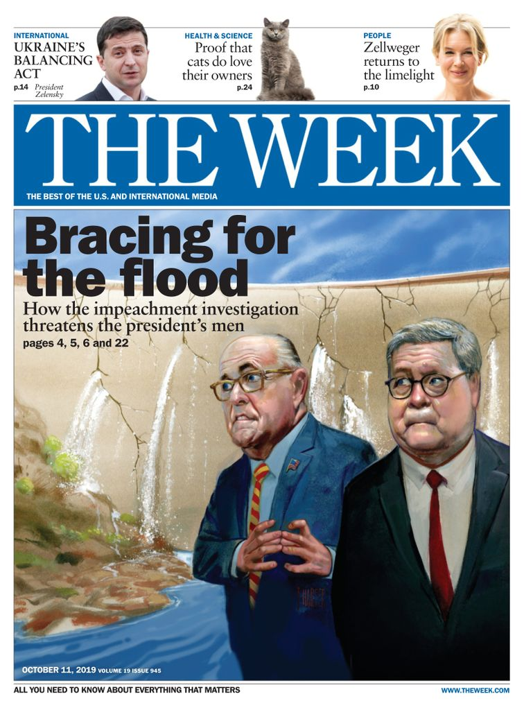 The Week Magazine cover for October 11, 2019.