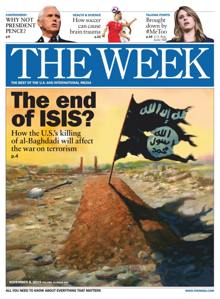 The Week Magazine cover for November 08, 2019.