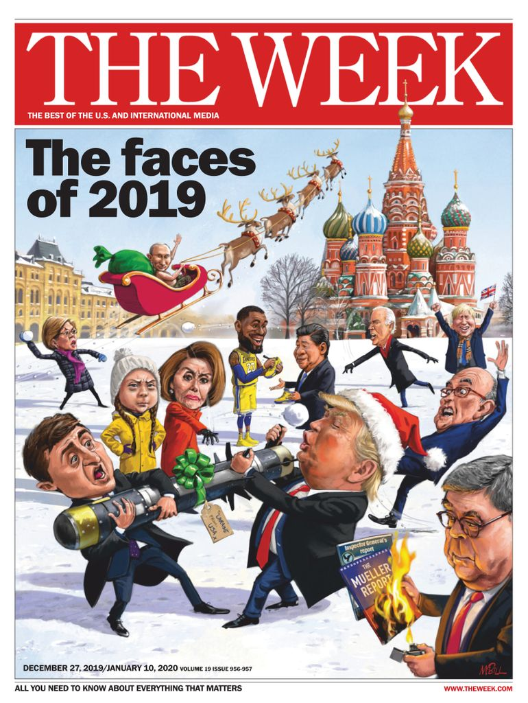 The Week Magazine cover for December 27, 2019