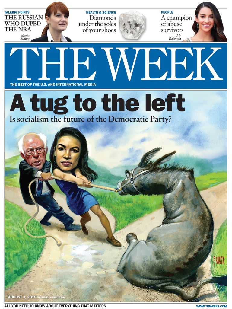 The Week Magazine cover for August 03, 2018.