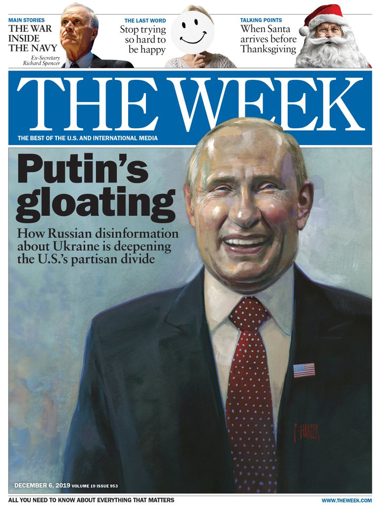 The Week Magazine cover for December 06, 2019