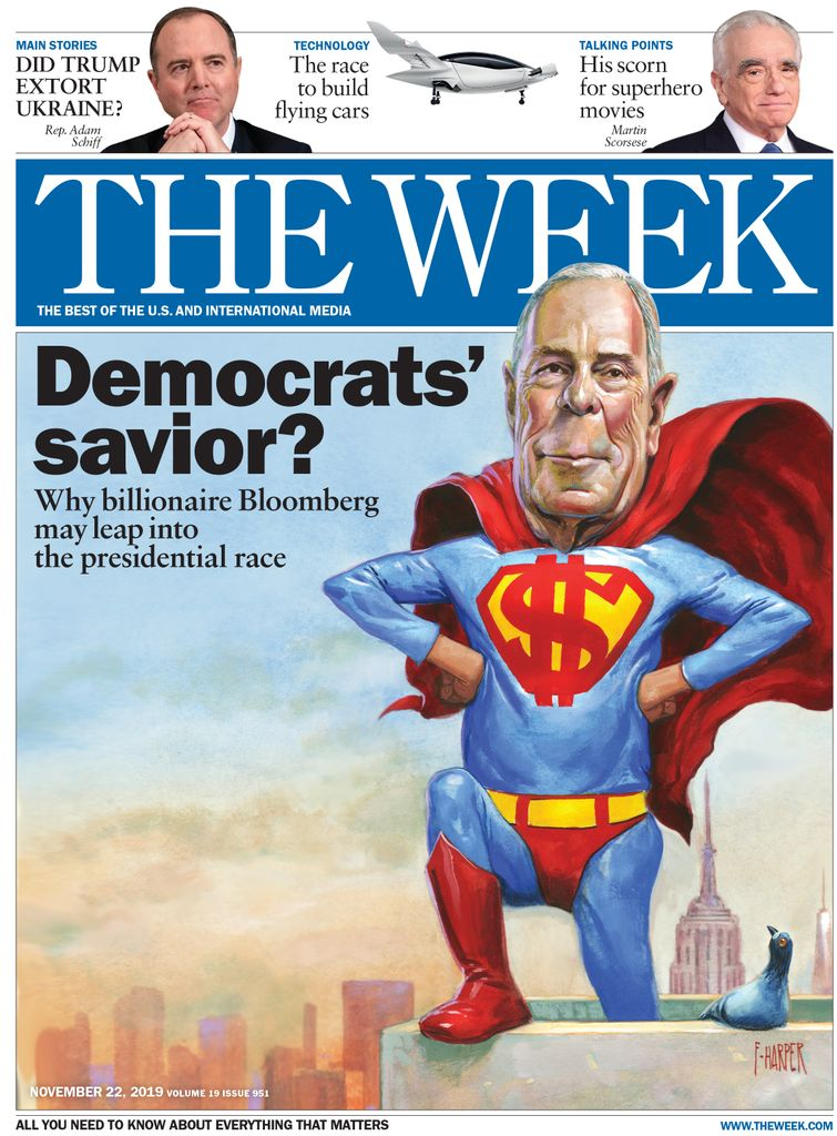 The Week Magazine cover for November 22, 2019.
