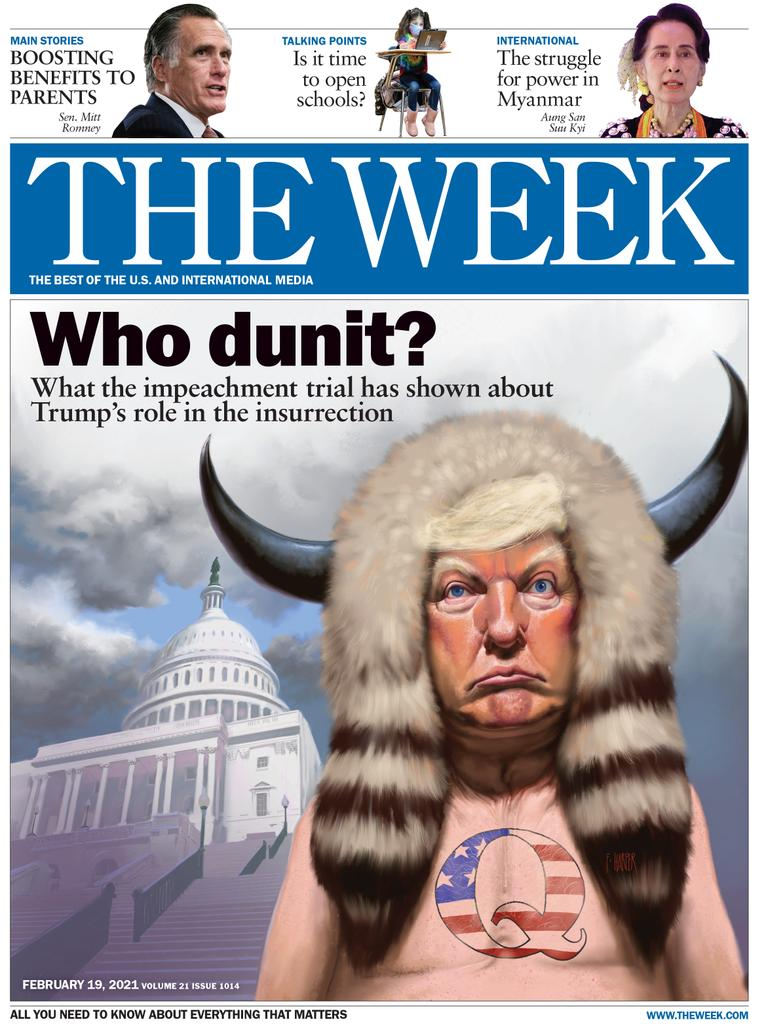 The Week Magazine cover for February 19, 2021.