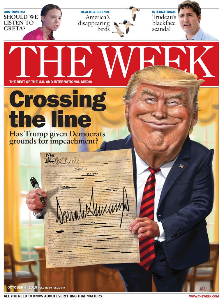 The Week Magazine cover for October 04, 2019.