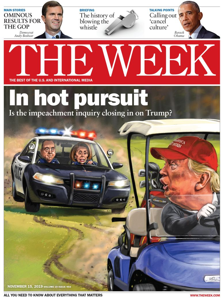 The Week Magazine cover for November 15, 2019