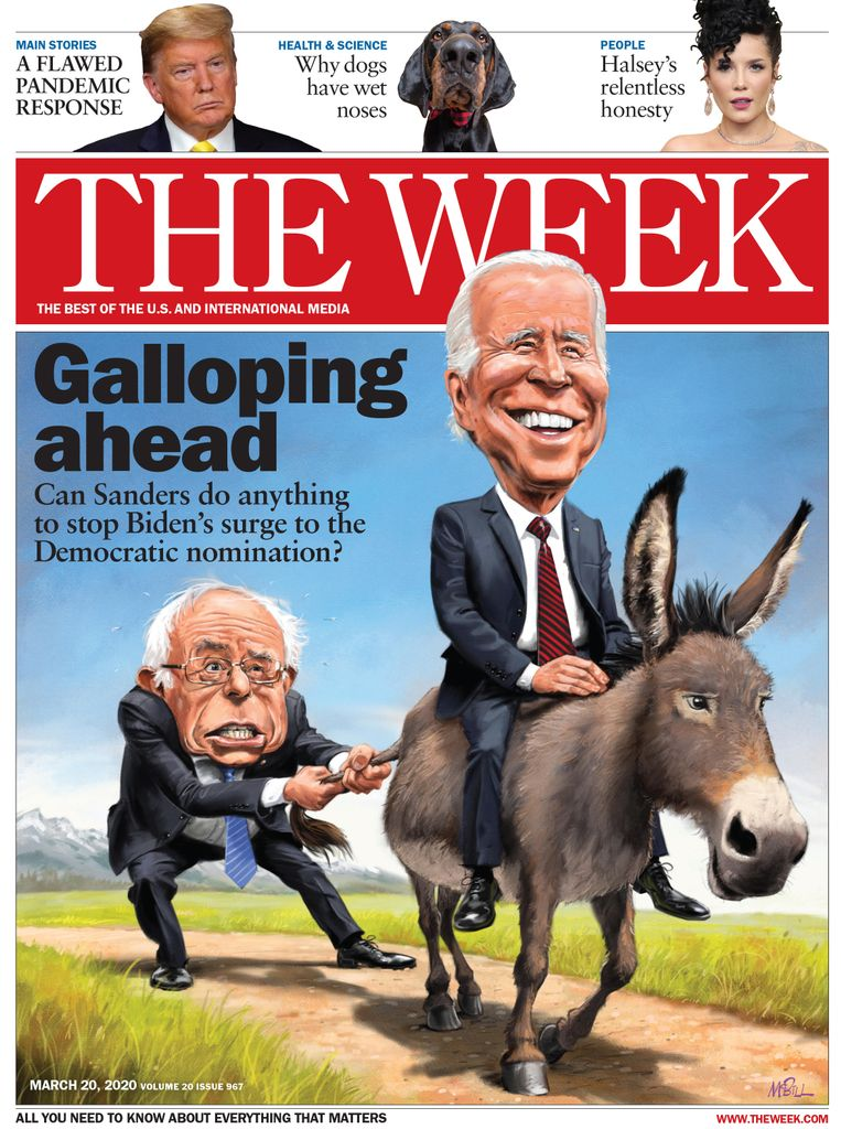 The Week Magazine cover for March 20, 2020.
