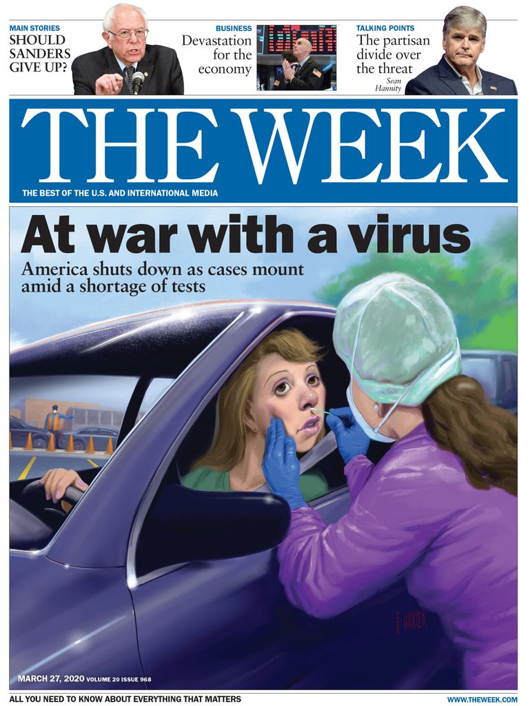 The Week Magazine cover for March 27, 2020