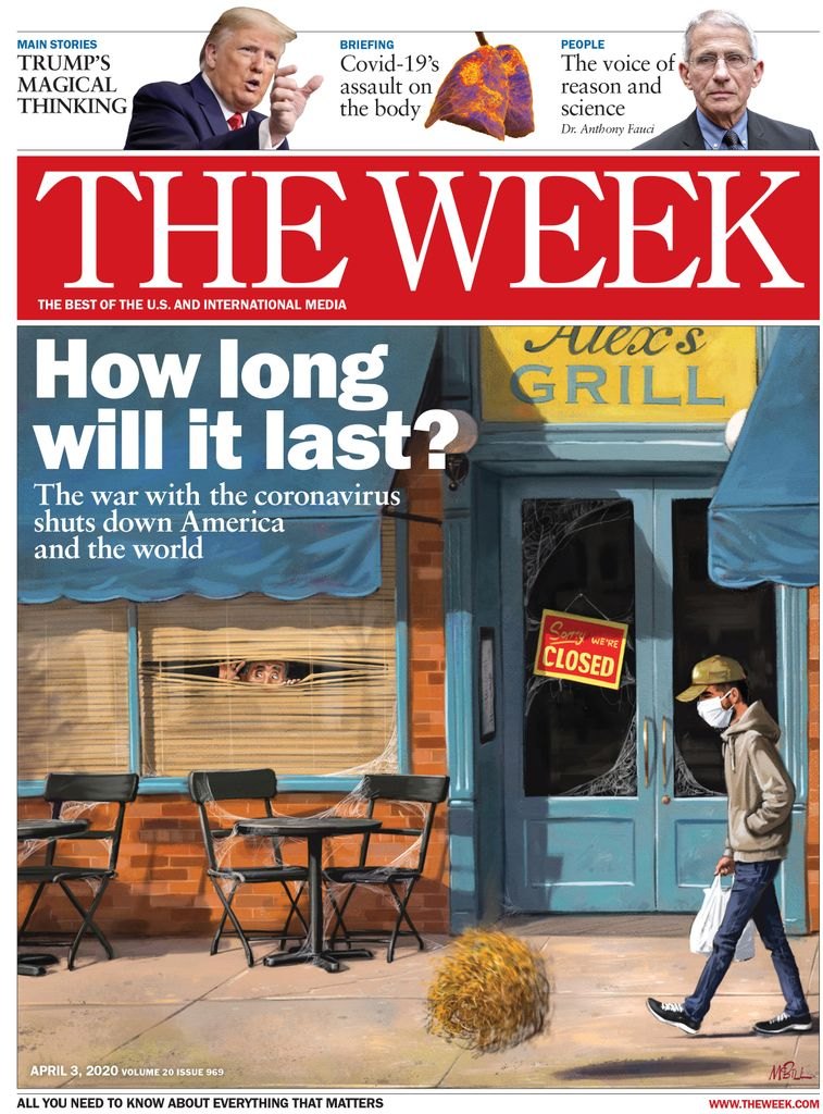 The Week Magazine cover for April 03, 2020.
