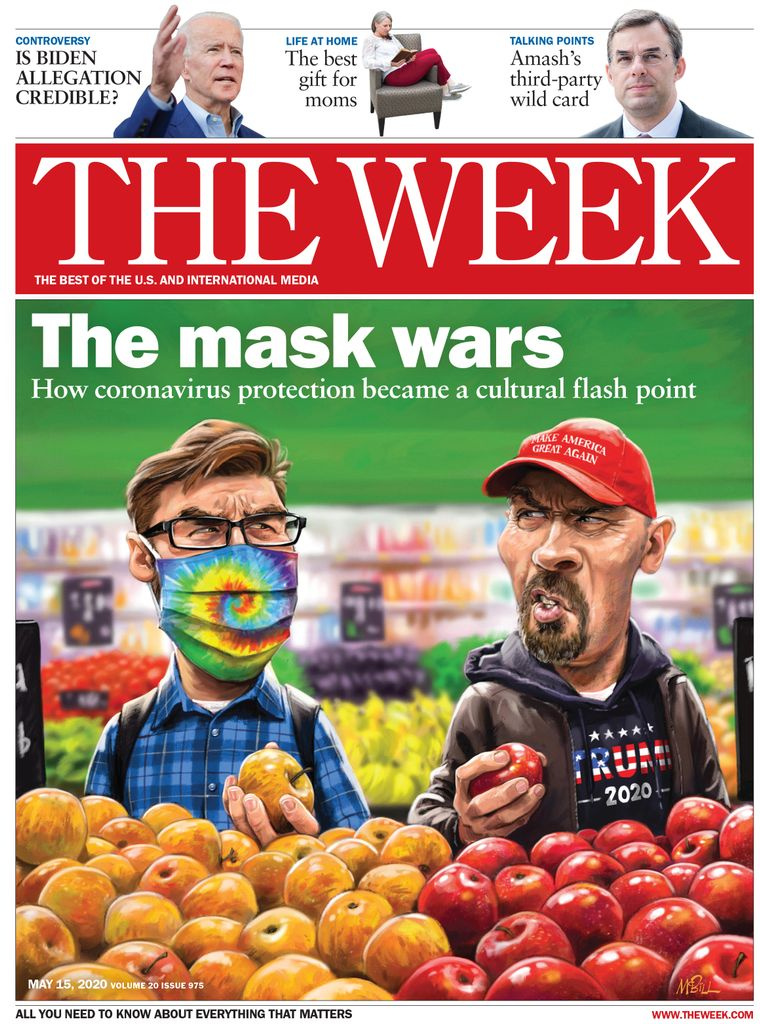 The Week Magazine cover for May 15, 2020.