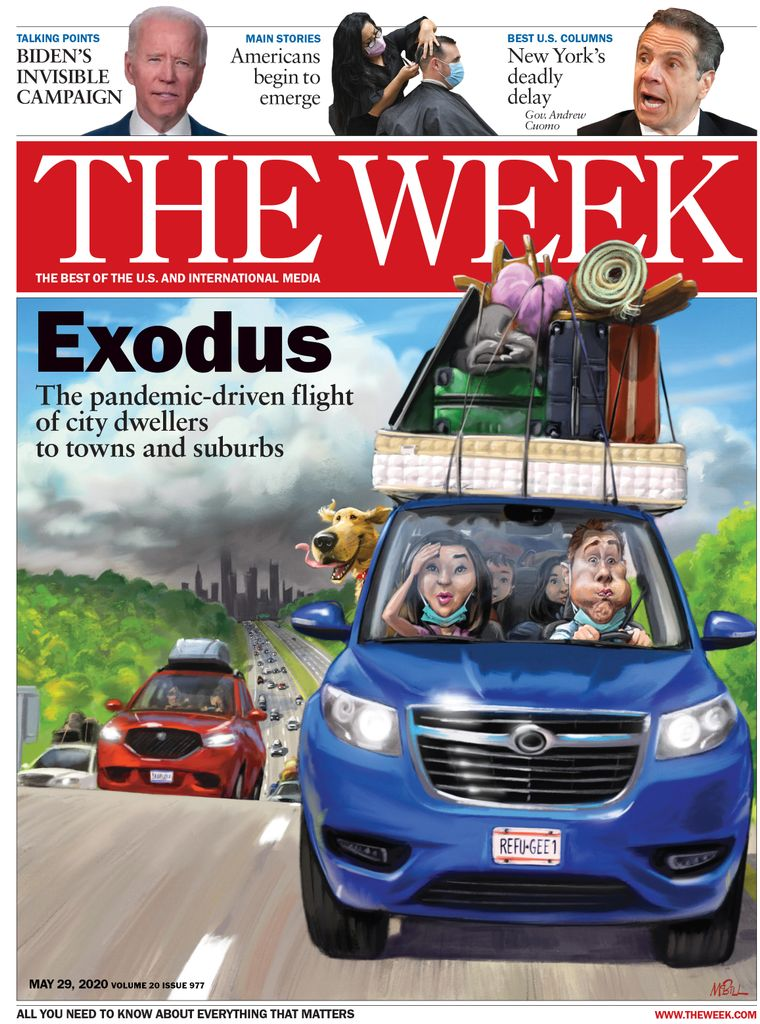 The Week Magazine cover for May 29, 2020.