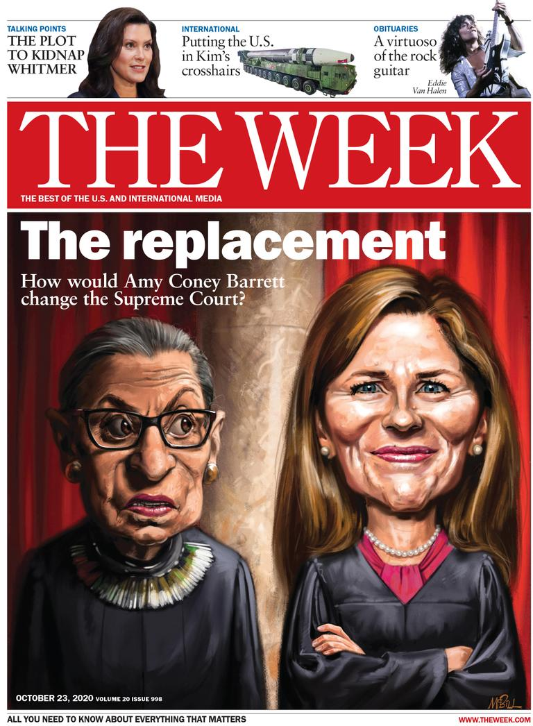 The Week Magazine cover for October 23, 2020.
