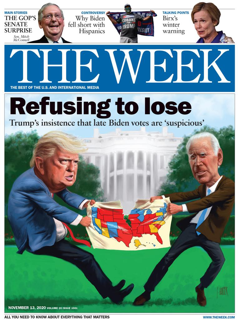 The Week Magazine cover for November 13, 2020.