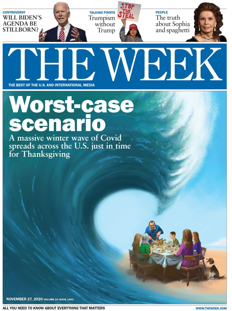 The Week Magazine cover for November 27, 2020.